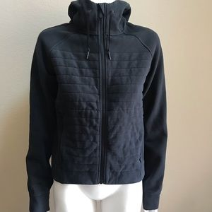 Lululemon black hooded sweater zip jacket 4